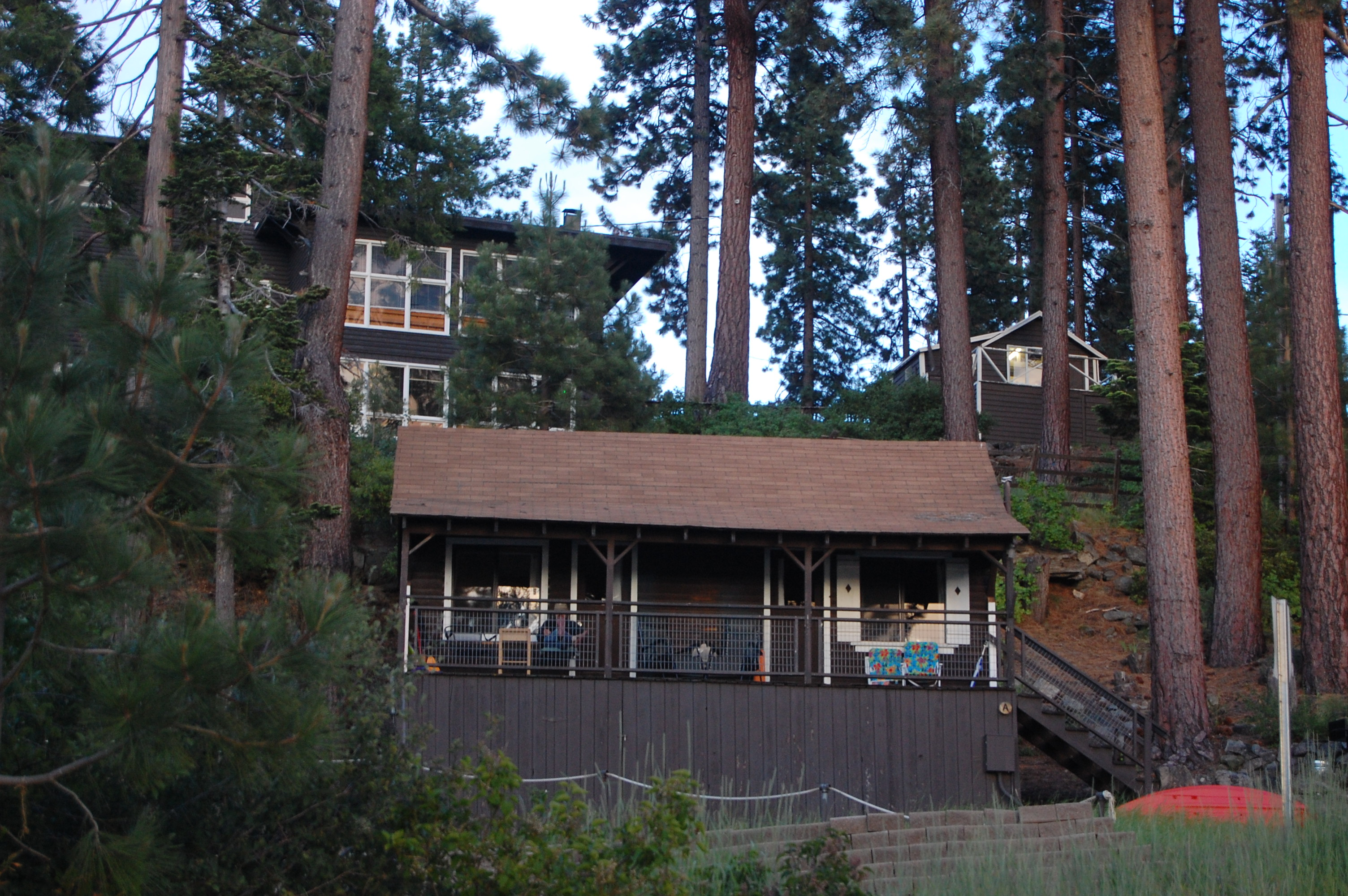 cabin tewesi california cabins in lakefront pinterest lake rental tahoe lodge pin