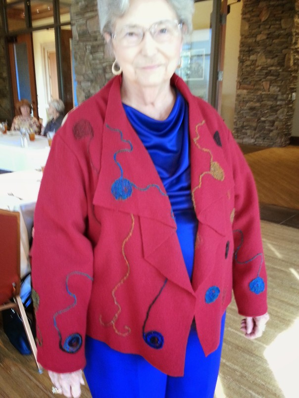Sharon, felted jacket, 1